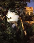 Thomas Moran Two Owls painting